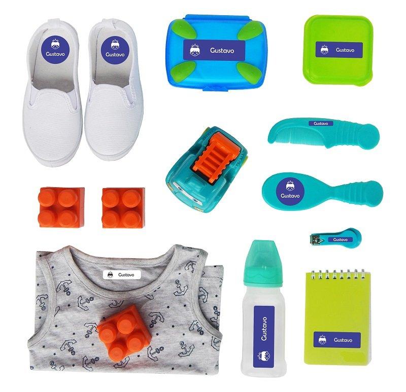 de9ae0daff Etiquetas Kit Creche 1 para Creche e Escolinha - Grudado Em Você