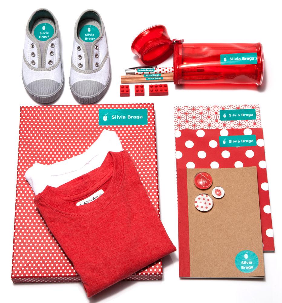 df1222192c Etiquetas Kit Escola para Material Escolar - Grudado Em Você