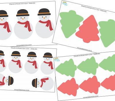 Kit Recados de Natal