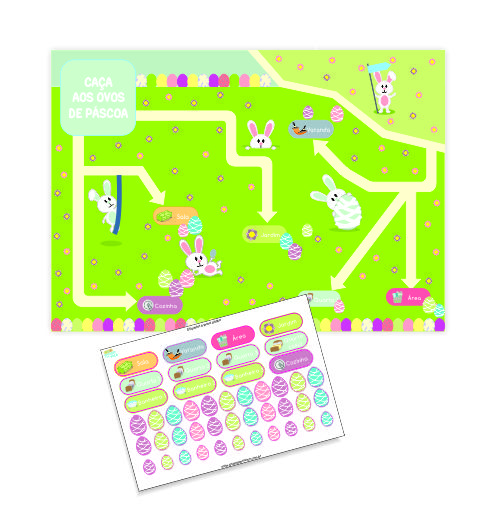 Mapa Verde Simples