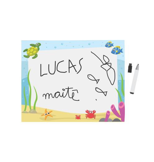 quadro de desenho infantil montagem