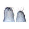 2 sacos azuis